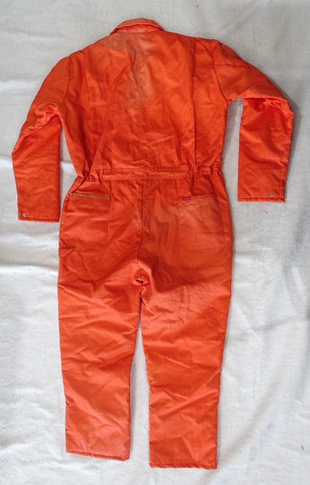Dickies Orange Long Sleeve Insulated Teflon Coated Coverall Grade B