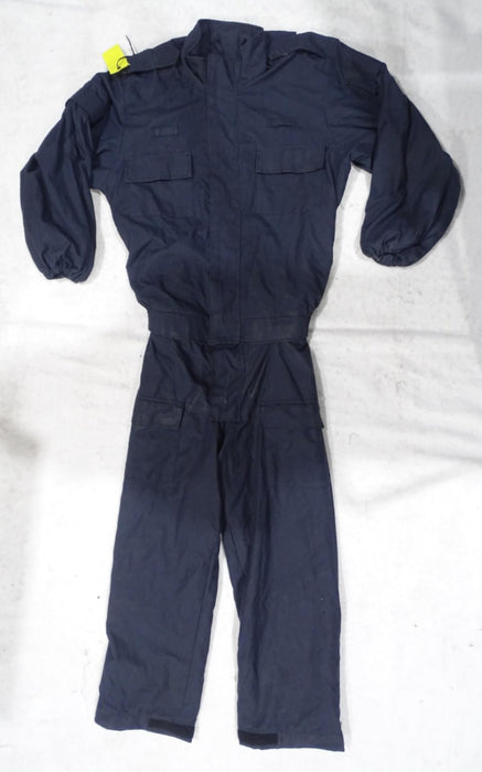Scotgreat Navy Blue 2 Part Zip Off Flame Retardant Riot Coverall