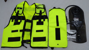 New Police Hi Vis Remploy Frontline Hydration Tactical Vest MK2 Pouch & Bladder