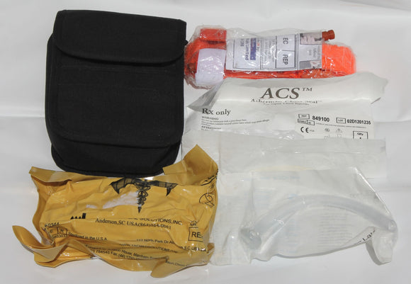 Personal Trauma Pack With Pouch Air Soft Medic Kit Paintball CAT