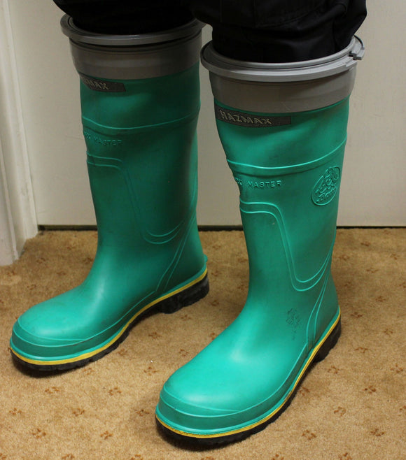 Bata Hazmax Safety Wellington Boots,  Chemical Resistant With Steel Toe Cap