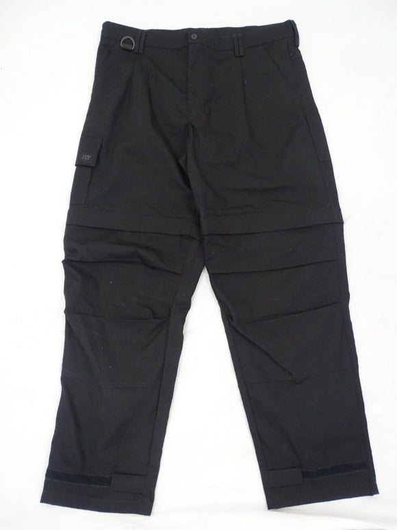 KIT DESIGN Men's Black Tactical Cargo Combo Shorts & Trousers Grade A