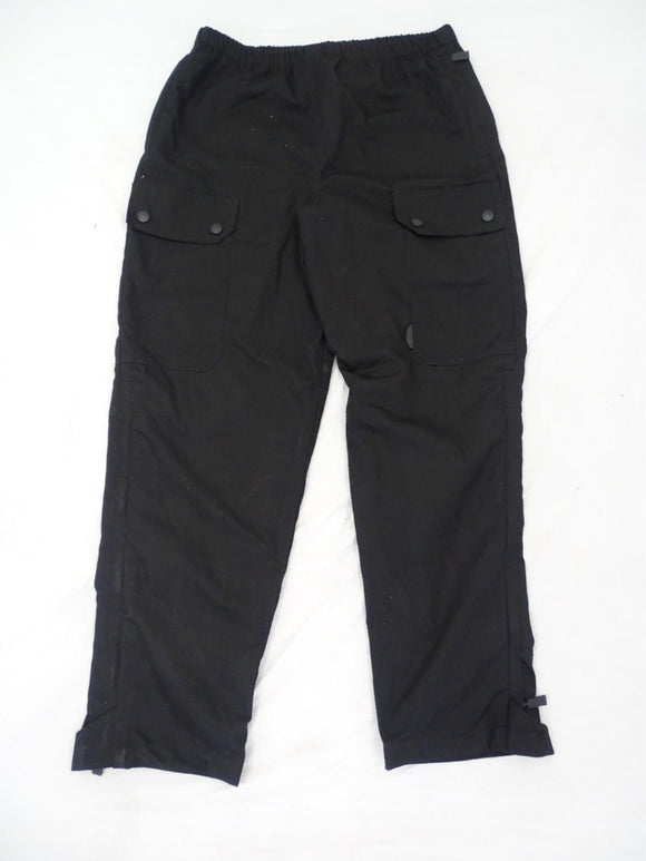 KIT DESIGN Men's Black Tactical Waterproof Cargo Over Trousers Grade A