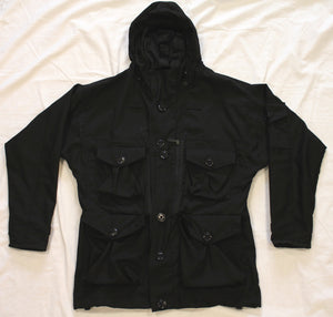 Kit Design Smock Coat Black Tactical Ripstop Jacket Grade A