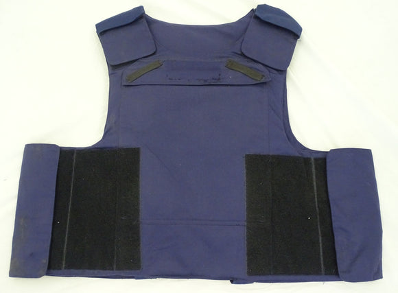 Tactical Blue LBA International Body Armour Bullet Proof Only Vest LA05A