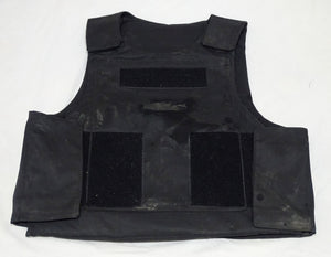 LBA International Black Tactical Ballistic Vest Body Armour Rated HG2 Grade B