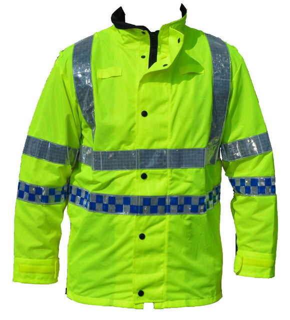 Hi Viz Vis Lightweight Reflective Traffic Overcoat Walking Recovery LW02B