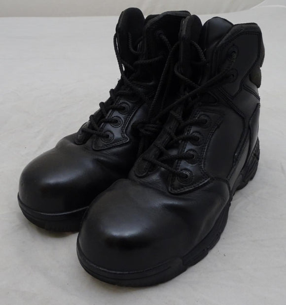 Used Magnum Stealth Force 6.0 Lace Up Black Combat Tactical Boots