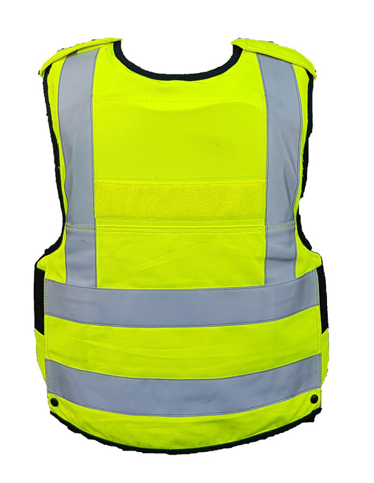 Mehler Hi Vis Overt Body Armour Ballistic Stab Vest For Security MEA03A