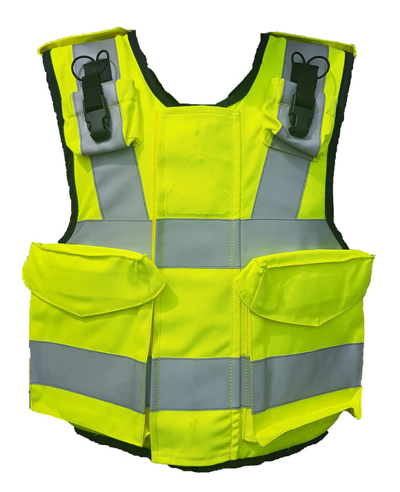 Ex Police Hi Vis Mehler Body Armour Cover Tac Vest !COVER ONLY! MC02A