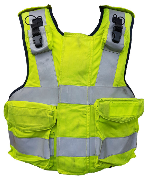 Ex Police Hi Vis Mehler Body Armour Cover Tac Vest !COVER ONLY! MC02B