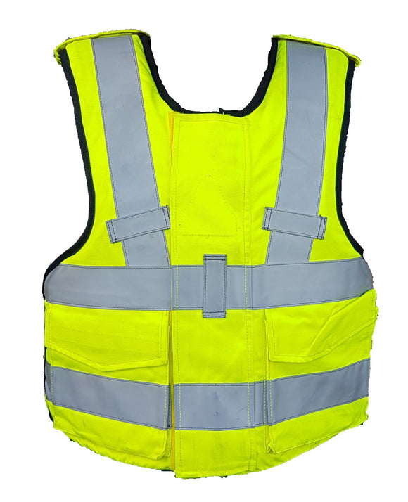 Mehler Hi Vis Overt Body Armour Ballistic Spike & Stab Vest For Security MEA01A