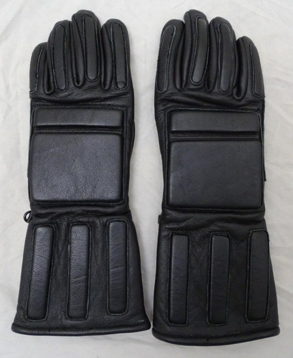 MLA LTD M300 Black Leather PPE Riot Gear Public Order Gloves GLV13