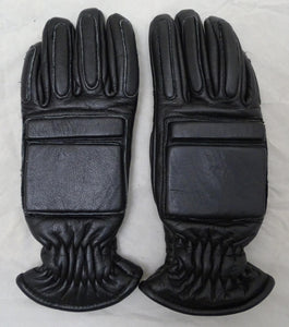 MLA LTD MS320 Black Leather PPE Riot Gear Public Order Gloves GLV14