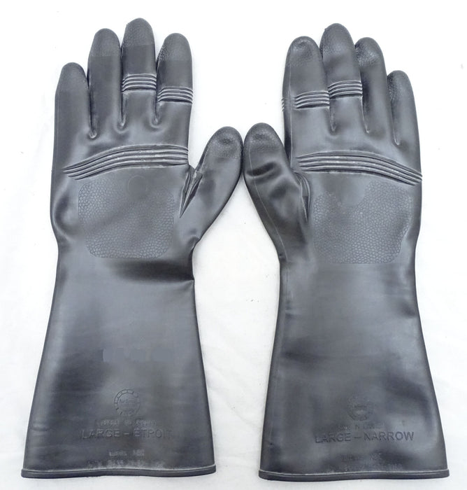 New AIRBOSS Defense CBRN NBC Protective Moulded Gloves CBRNGLV01N