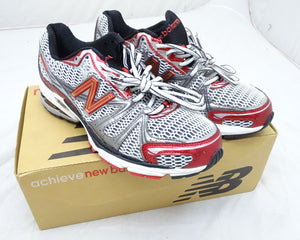 New Balance Man`s MR759SR Running Shoes Trainers UK Size 9 & 11 Red Silver Black