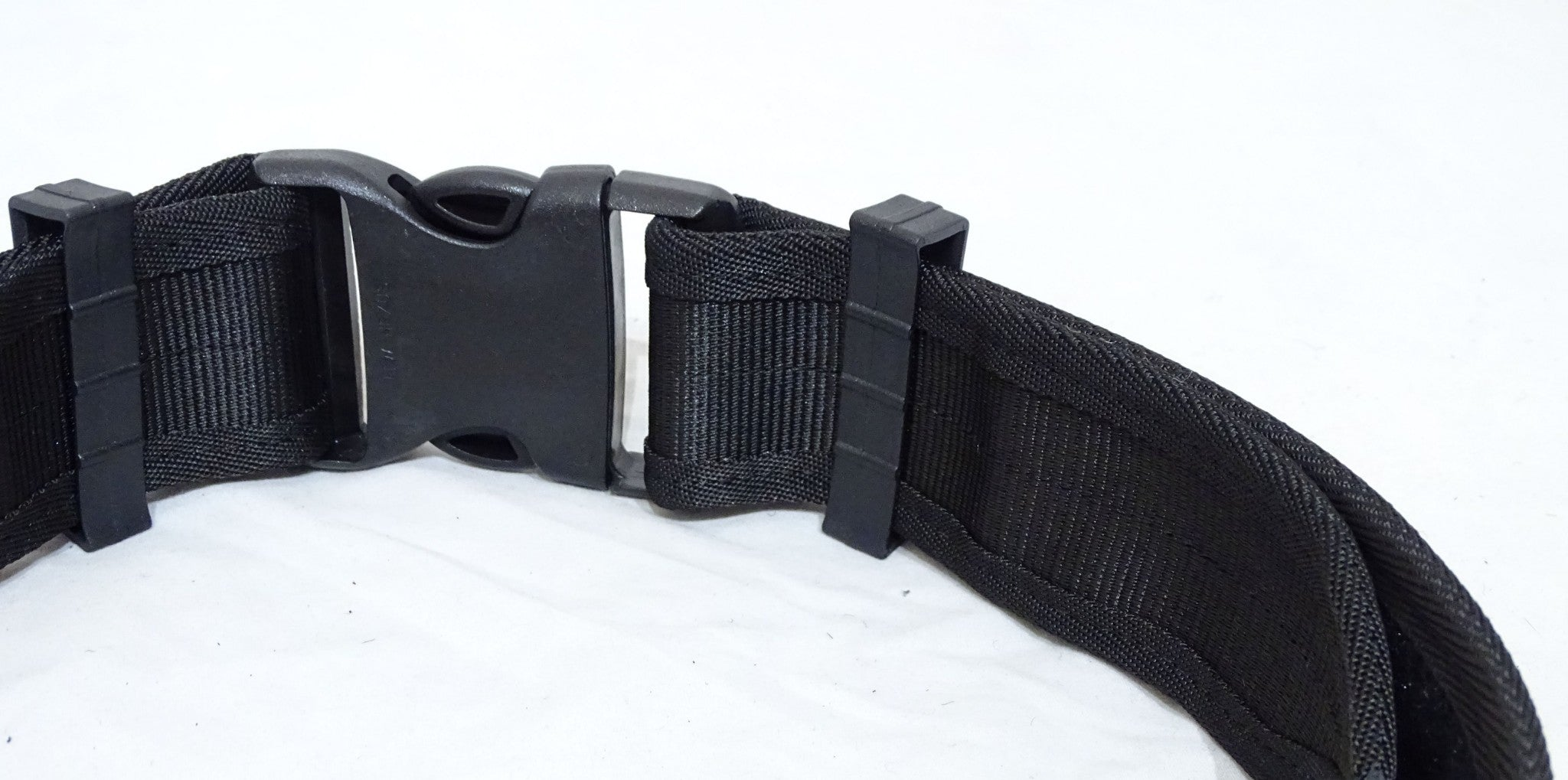 "Black Nylon Heavy Duty 2/"" Duty Belt Utility Belt Security Dog Handler"
