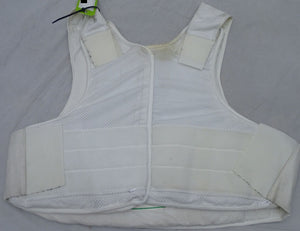 Meggitt White Covert Body Armour Bullet Proof Stab Vest For Security Grade B