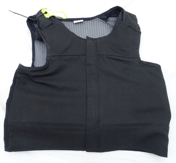 Hawk Black Overt Body Armour Bullet Proof Spike Stab Vest For Security Grade A