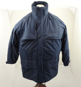 New Warrior Blue Waterproof Coat And Fleece Liner Size XXL ODDC03