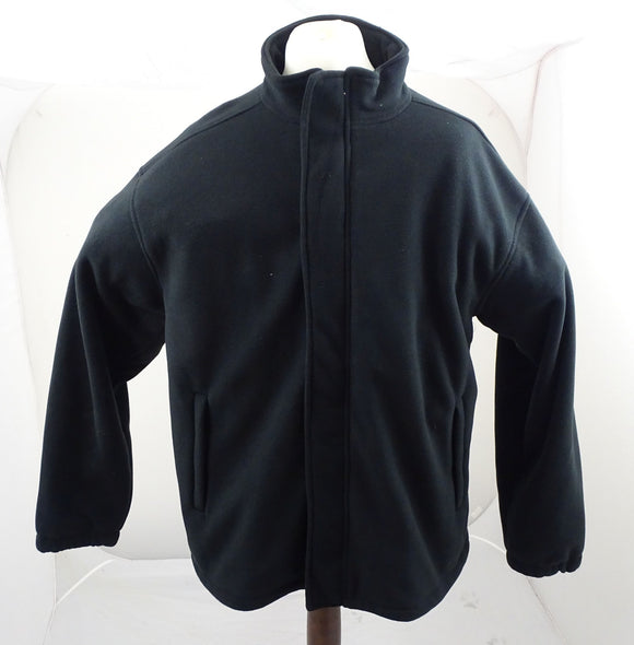 New Amberlake Black Thick Fleece Jacket With Mesh Lining Size XXL ODDC06