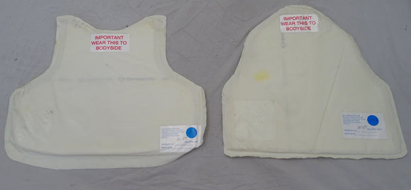 Global Armour Ballistic Only Panels Bullet Proof Panels Set Level HG1A OP159