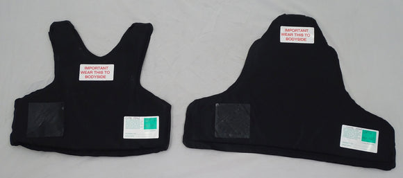 Global Armour Stab And Ballistic Panels Set Bullet Proof Panels HG1 KR2 OP17