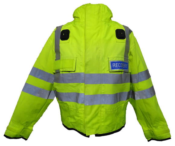 Hivis Yellow Goretex Waterproof Blouson Bomber Jacket PHVGBJ1B