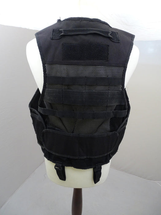 Protec Black Tactical Molle Vest