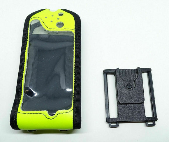 Used Sepura SRP SRH Peter Jones ILG Klickfast HI Viz Yellow Radio Case & Dock