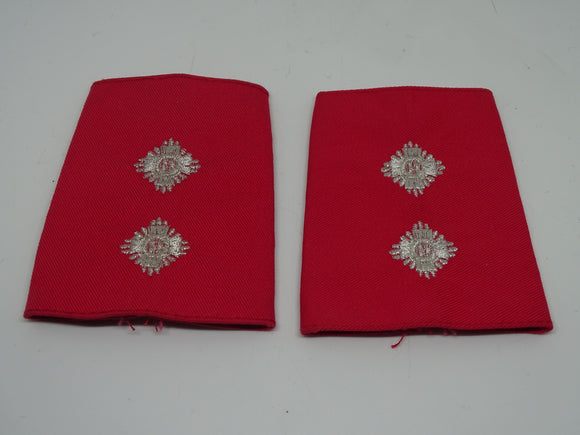 Red PSU Riot Officer Inspector Rank Slides