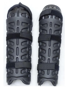 Ex Police Riot Gear Shin Guards Paintballing Airsoft S02S