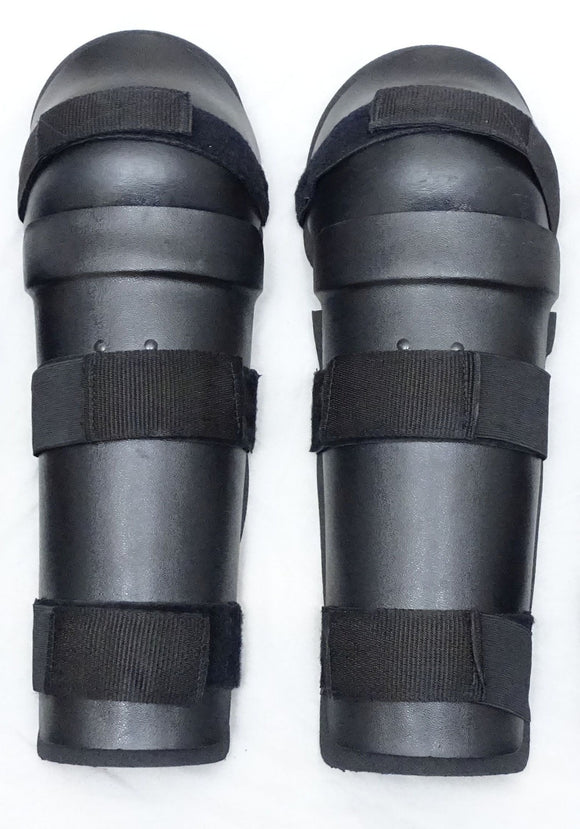 Riot Gear Knee & Lower Leg Shin Protectors Ideal For Paintball & Airsoft S01S