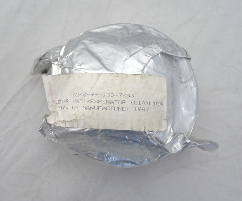 S10 Respirator NBC Protection Gas Mask Filter 4240-99-130-7483 BRITISH ARMY