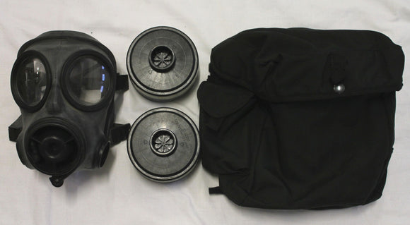 Ex Police Avon CBRN S10 Gas Mask With Bag & Filters SAS British Army Respirator