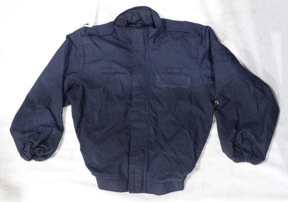 Scotgreat Navy Blue Zip Off Flame Retardant Riot Coverall Jacket