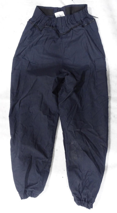 Scotgreat Navy Blue Zip Off Flame Retardant Riot Coverall Trousers