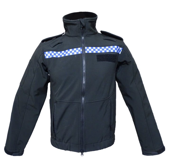 New Ex Police British NPU National Uniform Softshell Jacket Security Dog Handler