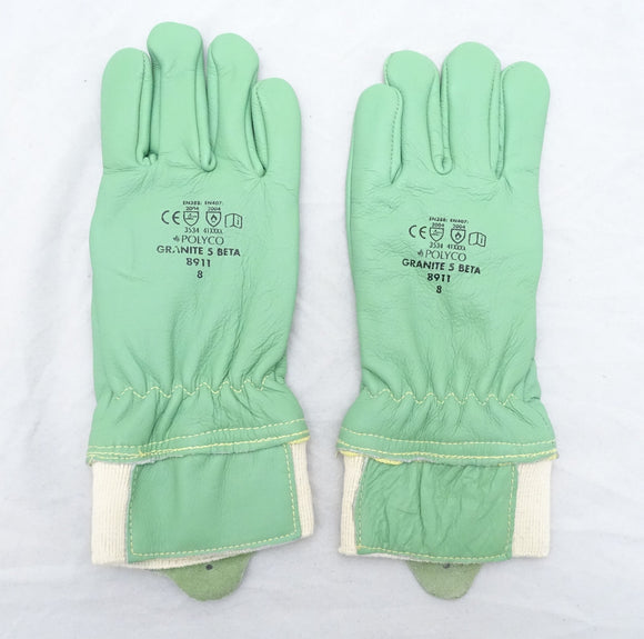 New Polyco 8910 Granite 5 Beta Kevlar® Lined Gloves Size 7, 8, 10, 11 GLV01