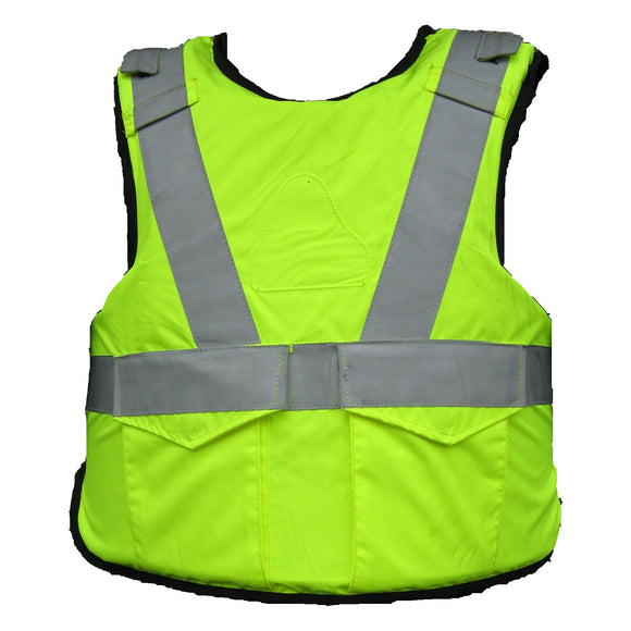 Hi Vis Trauma Vest Blunt Force Protective Vest For Airsoft Paintball Or Security