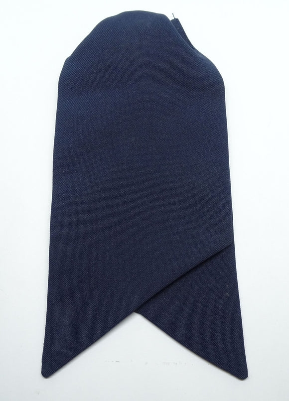 Ladies Clip-on Cravat Dark Blue Genuine British WPC Officer Used