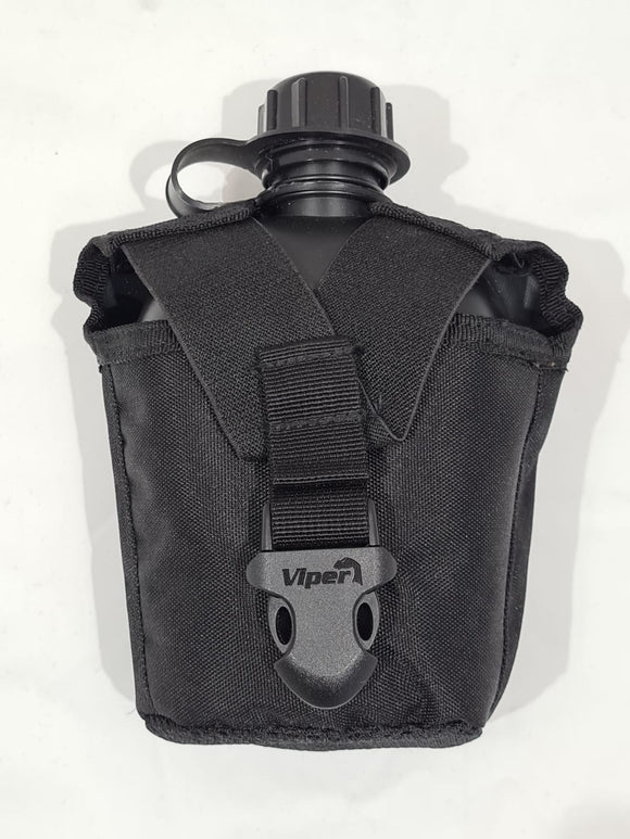 Avon Plastic 1 Litre Water Bottle With Belt Pouch Hiking//Camping