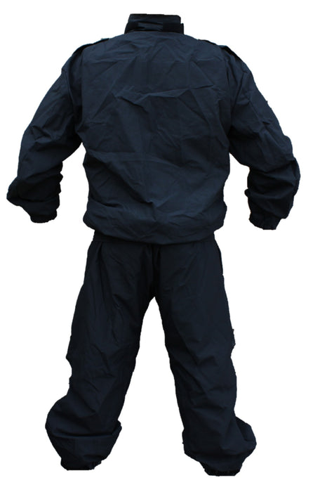 Yaffy 2 Part Zip Off Flame Retardant Riot Overall Coverall Navy Blue YC03B