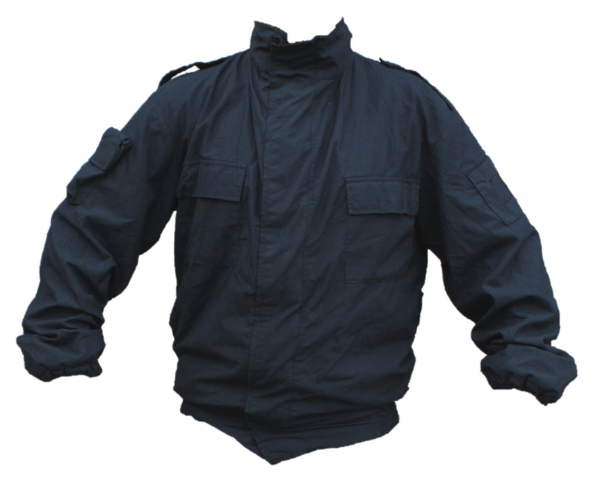 Yaffy Flame Retardant Riot Jacket Part Of Overall Coverall Navy Blue YC285B