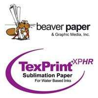 Beaver Paper Media Beaver Paper: Tex-Print White Sublimation Paper - No Tack