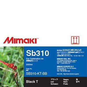 Mimaki Ink Black / 2000cc Mimaki SB310 Dye Sublimation Ink