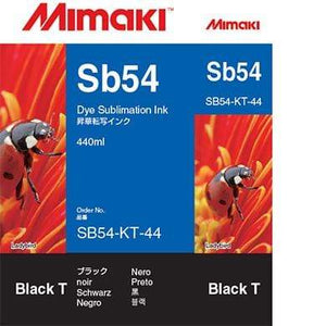 Mimaki Ink Black / 440cc Mimaki SB54 Dye Sublimation Ink