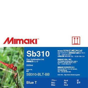 Mimaki Ink Blue / 2000cc Mimaki SB310 Dye Sublimation Ink