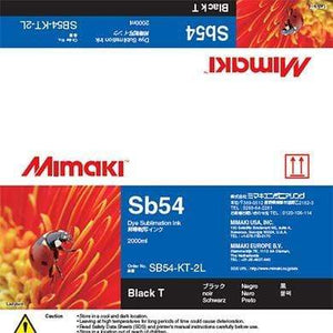 Mimaki Ink Blue / 2000cc Mimaki SB54 Dye Sublimation Ink