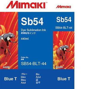 Mimaki Ink Blue / 440cc Mimaki SB54 Dye Sublimation Ink